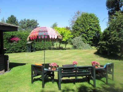 46. View Across Croquet Lawn
