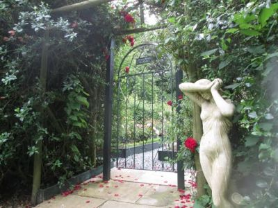 57. Entrance To Rose And Vegetable Garden
