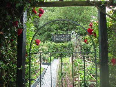 58. Rose And Vegetable Garden Gate