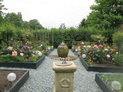 65. Rose And Vegetable Garden
