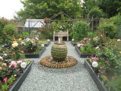 66. Rose And Vegetable Garden