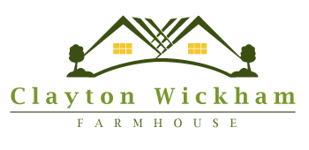 Clayton Wickham Farmhouse Logo